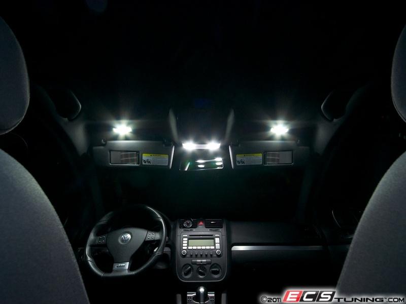 Ecs News Volkswagen Mkv Golf Gti Interior Led Lighting Kit