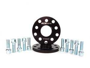 ES#8826 - ECS#1076ECSWBK -  ECS Wheel Spacer And Bolt Kit - 12.5mm With Ball Seat Bolts - Comes with everything you need to install spacers on two wheels - ECS - Audi Volkswagen