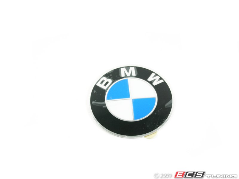 Genuine BMW BMW Wheel Center Cap Emblem Mm - Bmw decals for wheels