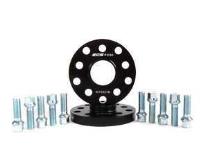 ES#8821 - 35255571ECSWBK -  ECS Wheel Spacer And Bolt Kit - 17.5mm With Ball Seat Bolts - Comes with everything you need to install spacers on two wheels - ECS - Audi Volkswagen