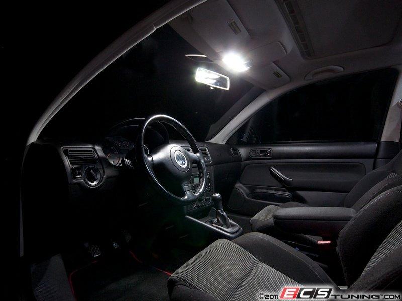 VW Golf For Sale >> ECS News - Volkswagen MKIV Golf LED Interior Lighting Kit