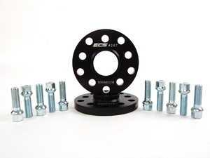 ES#8823 - 30255571ECSWBK -  ECS Wheel Spacer And Bolt Kit - 15mm With Ball Seat Bolts - Comes with everything you need to install spacers on two wheels - ECS - Audi Volkswagen