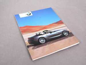 ES#12990 - 01410156897 - Z4 Owner's Manual - Replace your lost or destroyed owner's manual today - Genuine BMW - BMW