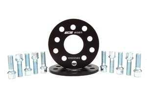 ES#2063857 - ECS10611KTWB -  ECS Wheel Spacer & Bolt Kit - 7mm With Ball Seat Bolts - Includes everything you need to install spacers on two wheels - ECS - Audi Volkswagen