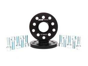 ES#250727 - ECS10157KTWB -  ECS Wheel Spacer & Bolt Kit - 15mm With Ball Seat Bolts - Includes everything you need to install spacers on two wheels - ECS - Audi Volkswagen