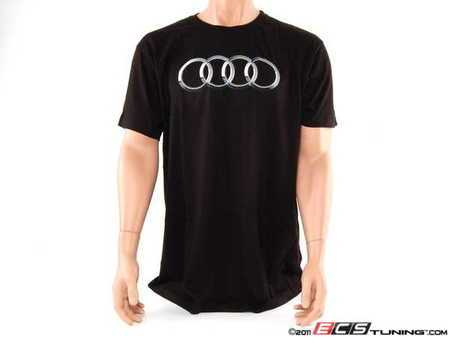 ES#2149155 - AWM640XL - Short Sleeve T-Shirt - X Large - A casual way to show your Audi pride. - Audi Collection -