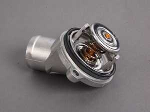 ES#11810 - 1122030275 - Engine Coolant Thermostat - 87C - Includes new o-ring - Wahler - Mercedes Benz