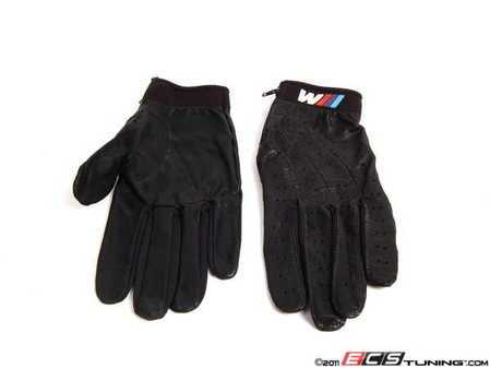 ES#190314 - 80160435735 - ///M Driving Gloves - Medium - Leather driving gloves garnished with the ///M logo - Genuine BMW - BMW