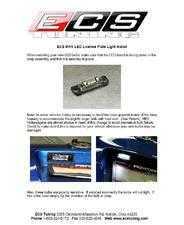 ES#258869 - MK5LEDINSTGUIDE - MK5 LED License Plate Install Guide - ECS -
