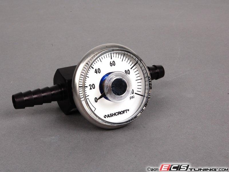 Ecs news fuel pressure gauge regulator kits audi b