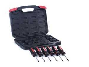 ES#11417 - sd-t6pcs - Torx Screwdriver Kit - 6 Pieces - A handy versatile kit, no matter what car you own - Schwaben - Audi BMW Volkswagen Mercedes Benz MINI Porsche