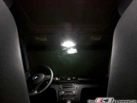 ES#2549763 - e82ovrhdledn - LED Overhead Lighting Kit - Transform your dome lamp lighting with these new LED bulbs from Ziza - ZiZa - BMW