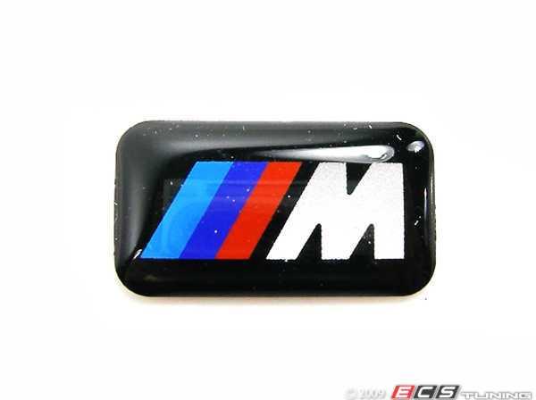 BMW Pin Logo M-Power golden Maße 25x6mm