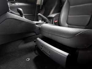 ES#2162452 - 5C689860182V - Driver's Seat Tray Kit - Titanium Black - Great way of getting extra storage space in your MK6 Jetta - Genuine Volkswagen Audi - Volkswagen