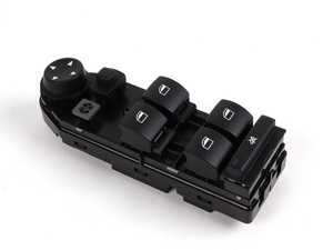 ES#166910 - 61313414354 - Window Switch Unit - Located on the driver's door - Genuine BMW - BMW
