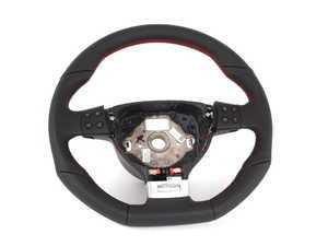 ES#517823 - 1K0419091GLXAN - Edition 30 GTI Steering Wheel - Direct fit wheel with multi function buttons from the European Edition 30 GTI - Genuine European Volkswagen Audi - Volkswagen