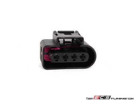ES#452689 - 8K0973724 - Ignition Coil Connector Housing - Priced Each - The 4-pin connector for the ignition coils - Genuine Volkswagen Audi - Audi