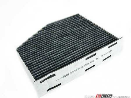 ES#258932 - 1K1819653B - Charcoal Lined Cabin Filter / Fresh Air Filter - A commonly missed filter, used to filter incoming air into the cabin - Genuine Volkswagen Audi - Audi Volkswagen