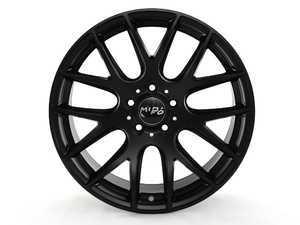 "ES#3236132 - W111.815212KT - 18"" Style 111 Wheels - Set Of 4 - Matte Black - 18x8.5 5x112 ET35 CB57.1. Ball seat wheel bolts required. - Miro - Audi Volkswagen"