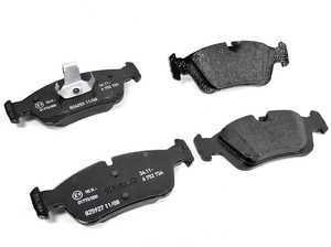 ES#59799 - 34116761244 - Front Brake Pad Set  - Genuine brake pads direct from BMW - Genuine BMW - BMW