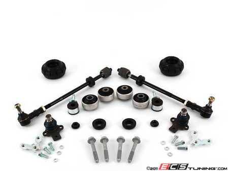 ES#2162760 - 1J0498022 - ECS Tuning Suspension Refresh Kit - Stage 2 - Restore the handling of your MK3 to bring back that new car feel. This kit includes everything in the stage 1 kit but upgrades to complete tie rod assembly. - Assembled By ECS - Volkswagen