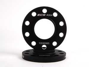 ES#2550690 - ECS262E70 - BMW Wheel Spacer Kit - 10mm - Aluminum wheel spacers, made specifically for your BMW - ECS - BMW