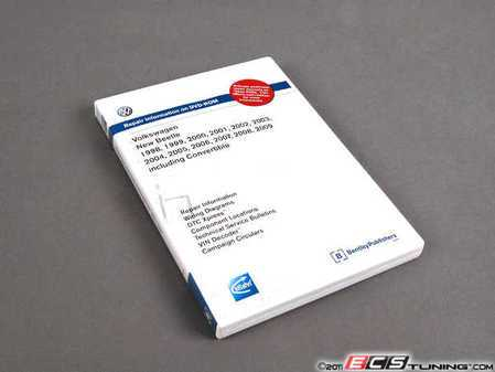 ES#1306797 - VNB6 - New Beetle (98-09) Service Manual - CD/DVD - All of the information you need to repair your New Beetle properly - Bentley - Volkswagen