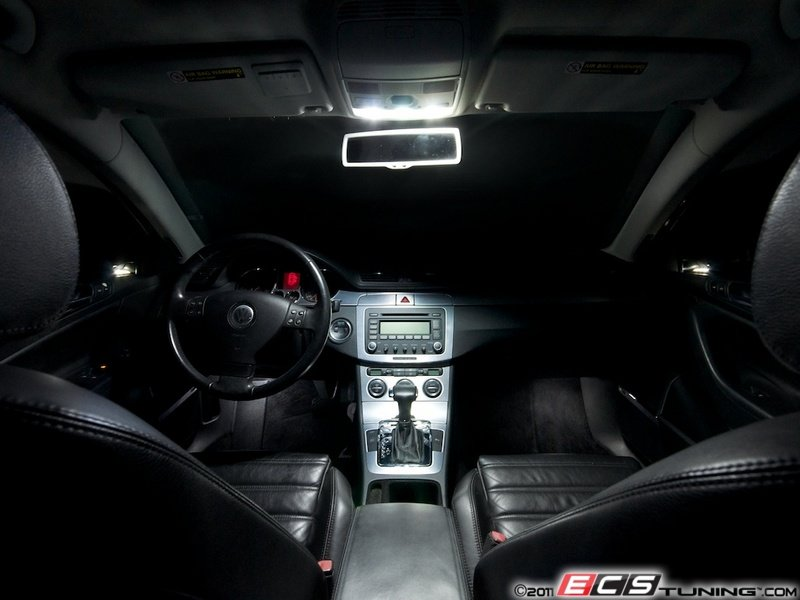 Ecs News Vw B6 Passat Led Interior Lighting Kit