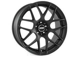 """ES#2568091 - V131915KT - 18"""" V710 Wheels - Staggered Set Of Four - 18x8.5"""" ET35/18x9.5"""" ET45 72.6CB 5x120. Matte black. - VMR - BMW"""