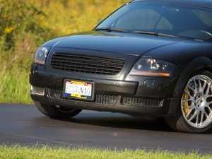 ES#9593 - FKSG067 - Badgeless Grille Kit - Black - Direct fit badgeless grille for your MKI Audi TT - FK - Audi