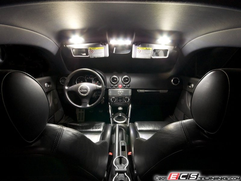 Ecs news ziza led interior lighting kit for audi mki tt for Interieur tt 2000