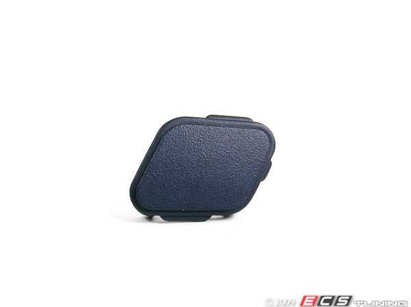 ES#107542 - 51428137252 - Door Pull Cover - Passenger (Right) - Ultra-marine - Genuine BMW -