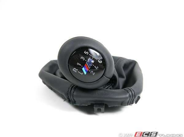 ES#47008 - 25112282400 - M5 Illuminated Shift Knob - 6 Speed - Nappa leather illuminated knob with electrical connector and shift boot - Genuine BMW - BMW