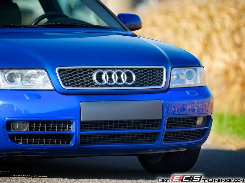 ECS News - Audi B5 S4 Front Bumper License Plate Filler