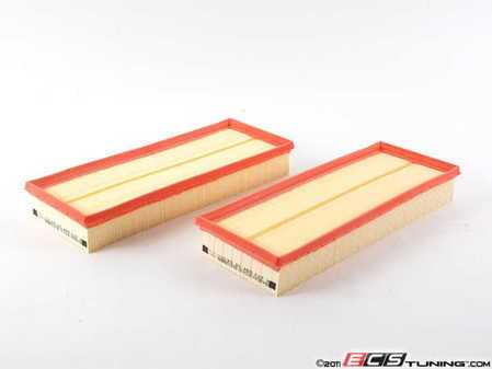 ES#2184030 - 2730940404 - Air Filter Set - Set of two engine air filters for your vehicle - Genuine Mercedes Benz - Mercedes Benz