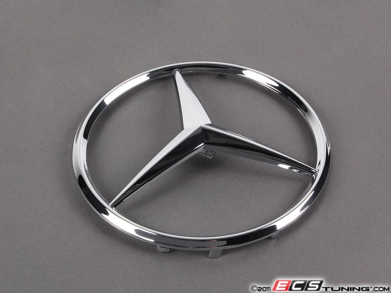 Genuine mercedes benz 1638880086 mercedes benz emblem for Mercedes benz front emblem