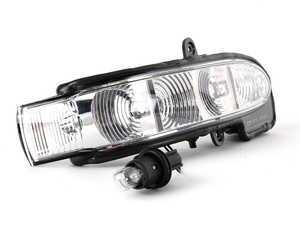 ES#1734171 - 2038201421 - Turn Signal Assembly - Located in the right side-view mirror housing - Genuine Mercedes Benz - Mercedes Benz