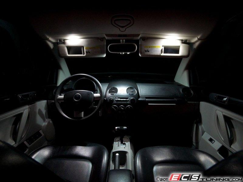 Ecs News Volkswagen New Beetle Led Interior Lighting Kit