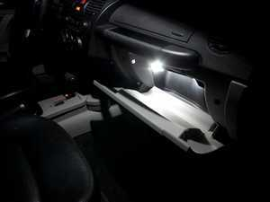 ES#2537988 - NBCGLOVEKT - Glove Box LED Lighting Kit - Illuminate your glove box like never before with these new LED bulbs - ZiZa - Volkswagen