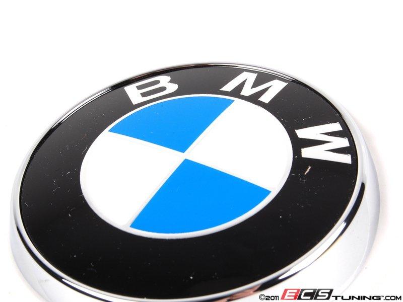 genuine bmw 51148240128 rear hatch emblem 51 14 8 240. Black Bedroom Furniture Sets. Home Design Ideas
