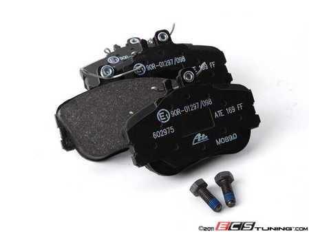 ES#2602564 - 0054204620 - Front Brake Pad Set - Does not include brake pad wear sensors - ATE - Mercedes Benz