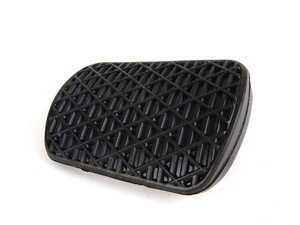 ES#1648887 - 1232910082 - Brake Pedal Pad - Black Rubber - Genuine Mercedes Benz - Mercedes Benz