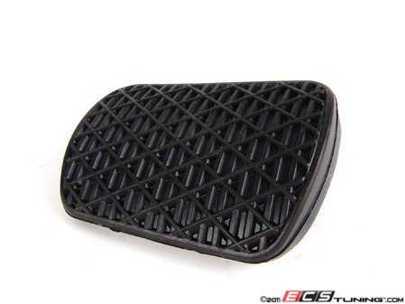 ES#1648887 - 1232910082 - Brake Pedal Pad - Black Rubber - Genuine Mercedes Benz - Mercedes Benz