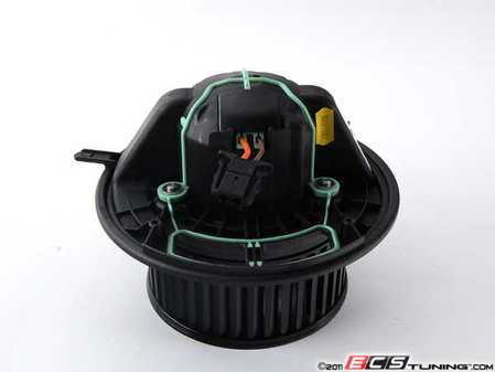 ES#1885088 - 64119227670 - HVAC Blower Motor - Located behind the glove box and responsible for circulating air. Reuses your regulator. - Genuine BMW - BMW