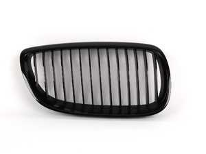 ES#264649 - 51712155450 - Blackout Kidney Grille - Right (Passenger) - Add style and individuality to your 3 Series in moments - Genuine BMW M Performance - BMW