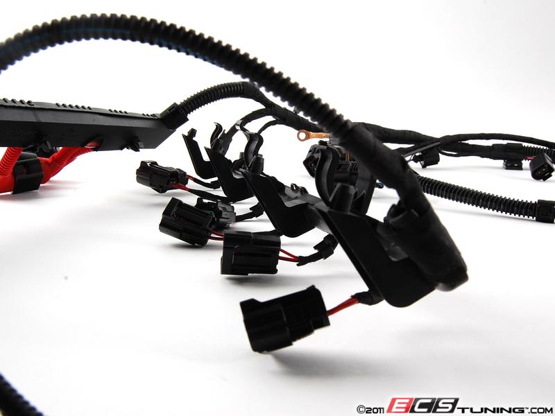 genuine volkswagen audi ab engine wiring harness es 269848 022972619ab engine wiring harness connects the ecu to various engine