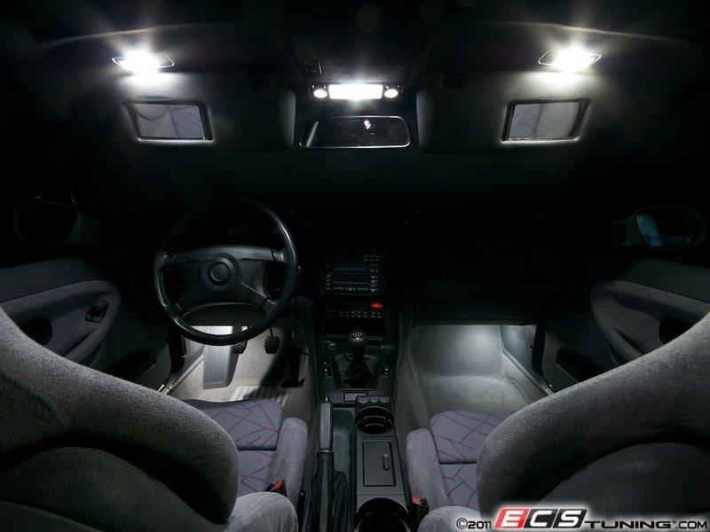 Ecs news bmw e36 m3 ziza interior lighting kit for Interior bmw e36