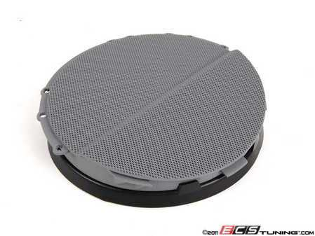 ES#102017 - 51418224018 - Right Front Speaker Cover - Grau/Gray. Protects the front door speaker - Genuine BMW - BMW