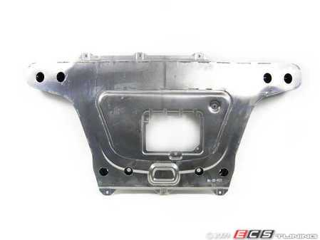 ES#128604 - 51717028433 - Front Subframe Brace - Used to protect oil pan and triangulate subframe for correct handling - Genuine BMW - BMW