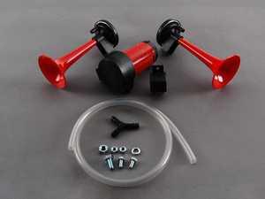 ES#8193 - un6627400 - Air Trumpet Kit - Dual tone air horn kit - Hella - Audi BMW Volkswagen Mercedes Benz MINI Porsche